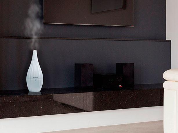 Integración del humidificador en la arquitectura contemporánea