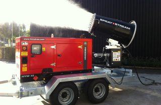 Importancia de los nebulizadores de cañón para la desinfección de entornos