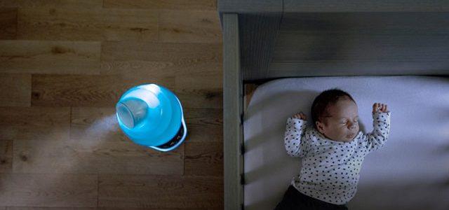 Humidificador, aliado contra el covid-19 en hogares con recién nacidos